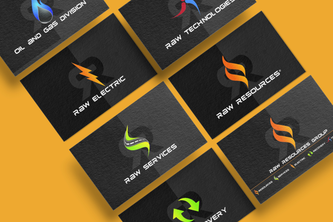 Raw Resources Business Cards