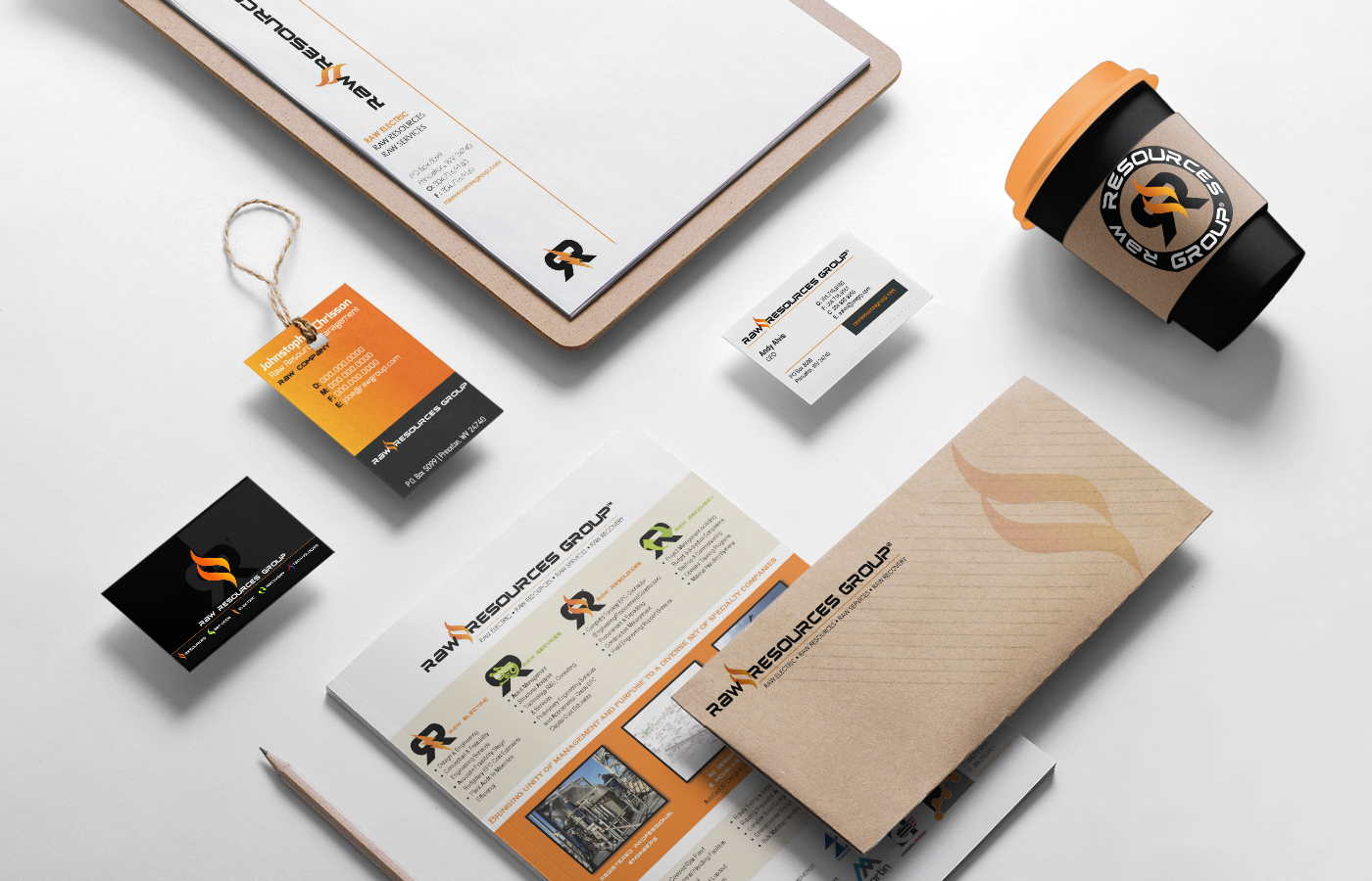 Raw Resources Branding