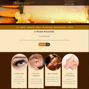 Allure Spa old site